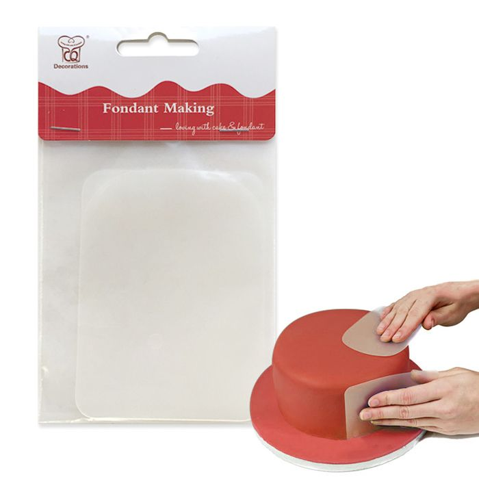 Flexible Smoothers (set of 2) Cake Sharpies