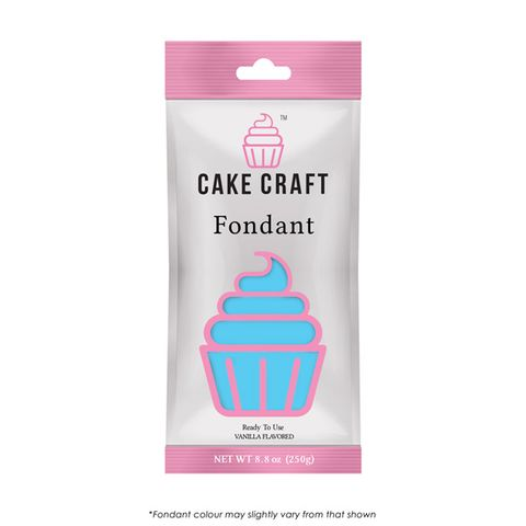 Cake Craft Fondant Sky Blue - 250gm