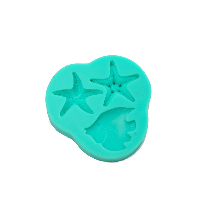 Silicone Mould - Starfish Mould