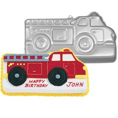 HIRE - Fire Engine Cake Tin