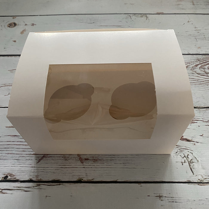 2 Cupcake Box with Window and Insert