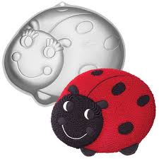 HIRE - Lady Bug Cake Tin