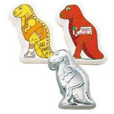 HIRE - Dinosaur Cake Tin