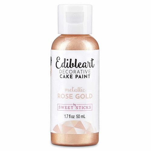 Sweet Sticks Edible Paint - Metallic Rose Gold - 50ml