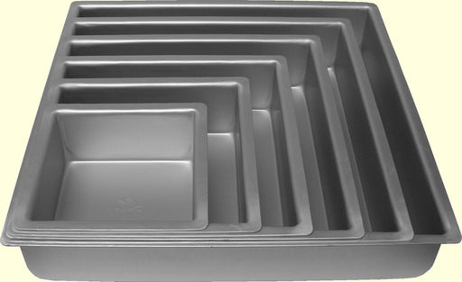 "HIRE - Square Cake Tin (4-14"")"