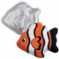 HIRE - Tropical Fish Cake Tin