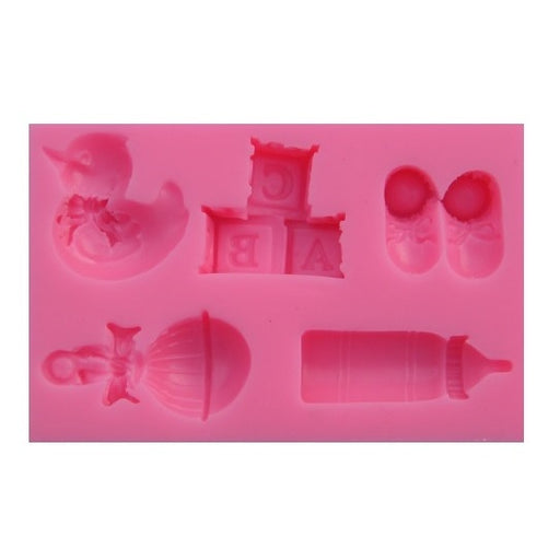 Silicone Mould - Baby Set (5)