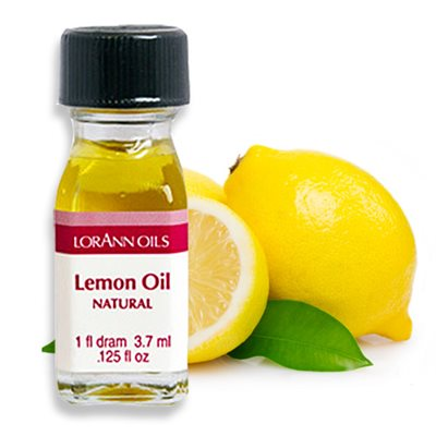 LorAnn Oils - Lemon Oil Natural 3.7ml