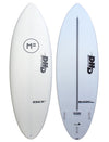 Mick Fanning DHD Black Diamond Softboard - White/FCSII