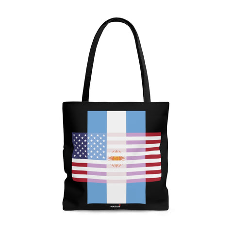 Argentina + United States = Positive Identity - Classic - Tote Bag