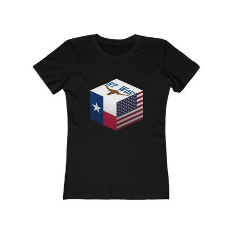 Fort Worth, Texas, United States - Cubed - Women's Tee