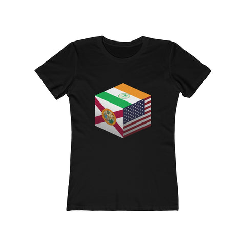 Miami, Florida, United States - Cubed - Women's Tee