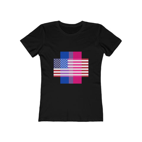 Bisexual Pride + United States = Positive Identity - Women's Tee