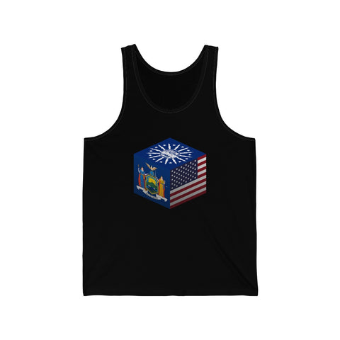 Buffalo, New York, United States - Cubed - Tank Top