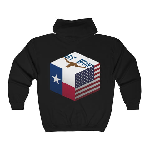 Fort Worth, Texas, United States - Cubed - Hoodie