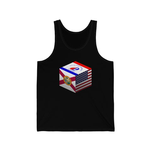 Fort Lauderdale, Florida, United States - Cubed - Tank Top