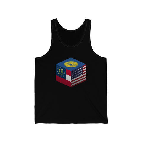 Atlanta, Georgia, United States - Cubed - Tank Top