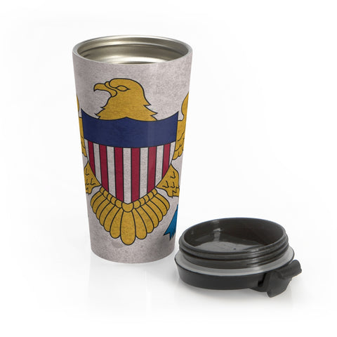 Virgin Islands (US) - Classic - Travel Mug