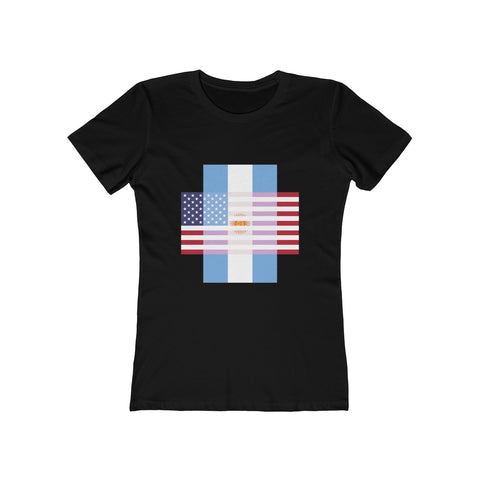 Argentina + United States = Positive Identity - Women's Tee