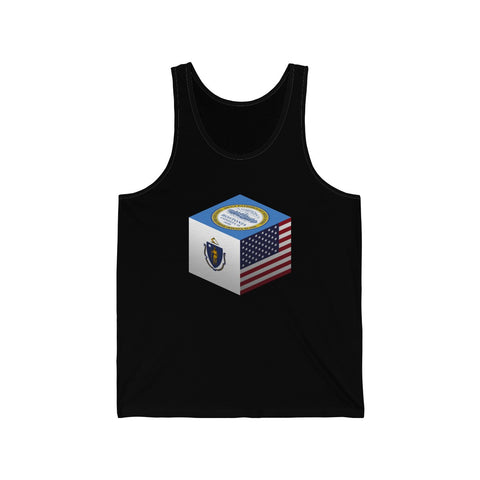 Boston, Massachusetts, United States - Cubed - Tank Top