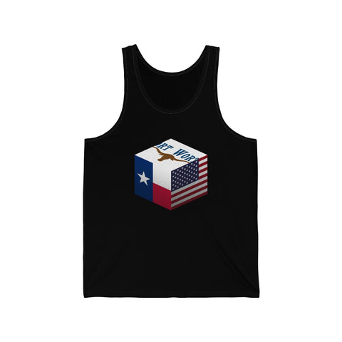 Fort Worth, Texas, United States - Cubed - Tank Top
