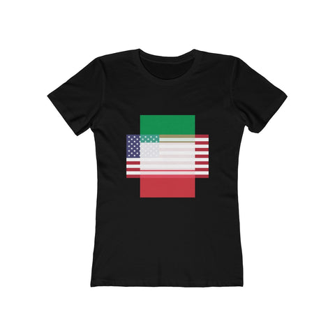 Italy + United States = Positive Identity - Women's Tee