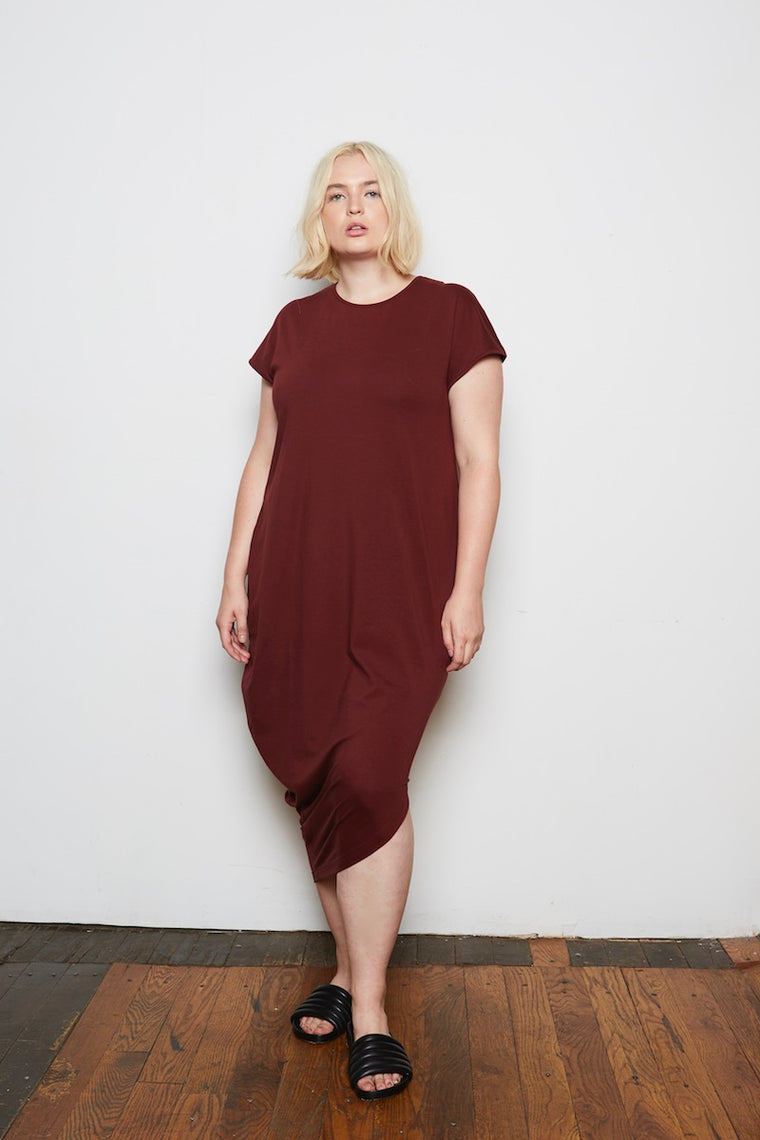 Universal Standard Geneva Dress - Rum Raisin