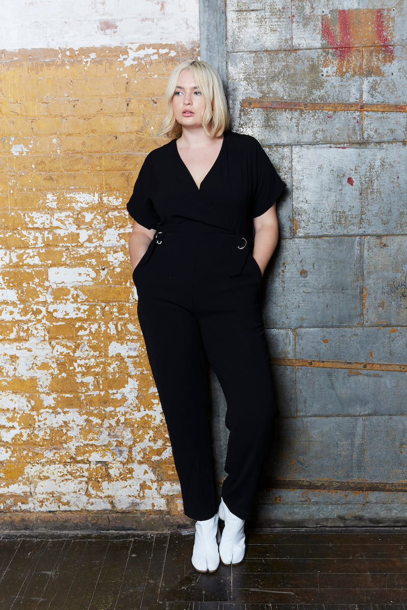 Elvi Black Jumpsuit
