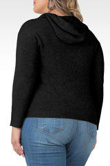 Standards & Practices - Amelie Cashmere Hoodie Sweater-Black