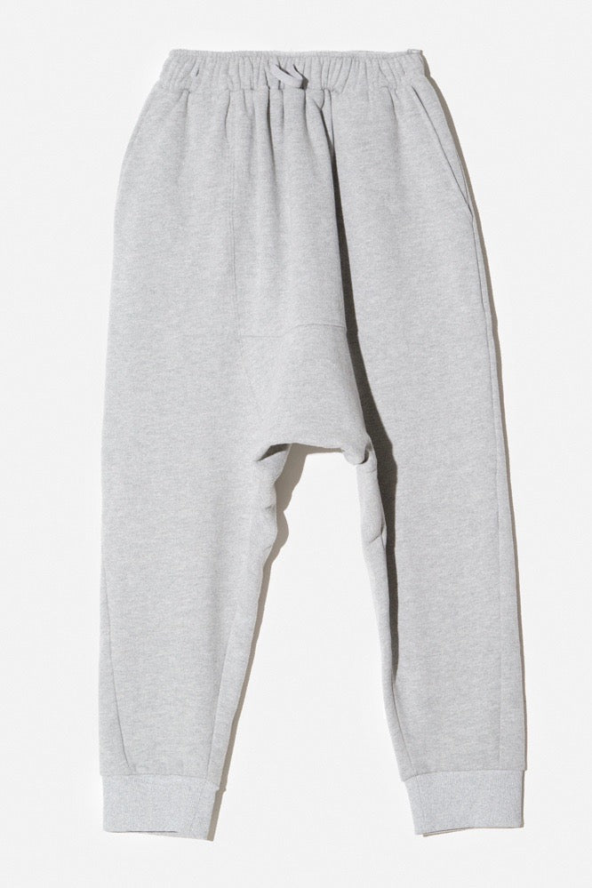 oak cuffed gusset sweatpant heather gray plus size CoverstoryNYC