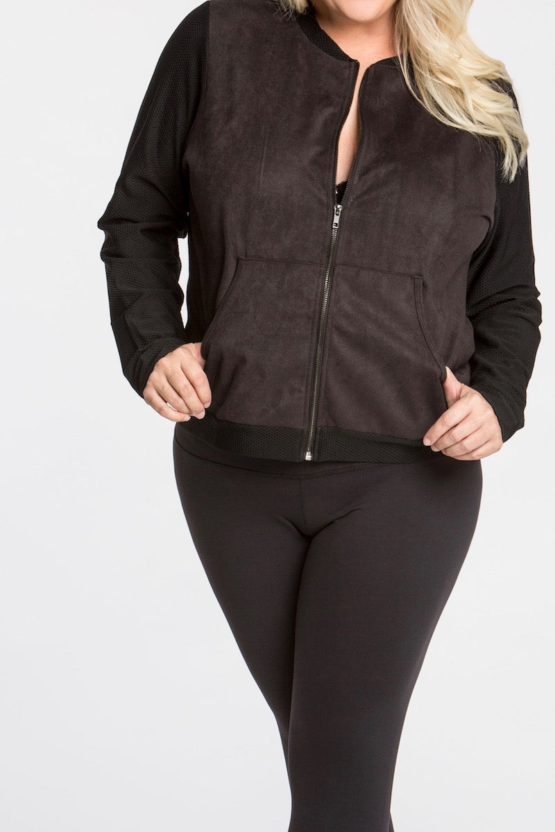 plus size activewear lola getts coverstory