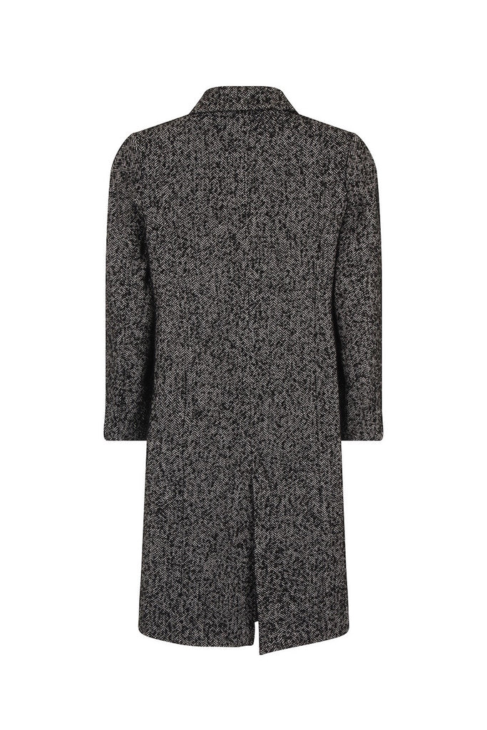 Elvi oversized tweed coat coverstorynyc plus size