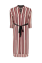plsu size elvi stripe shirt dress coverstorynyc