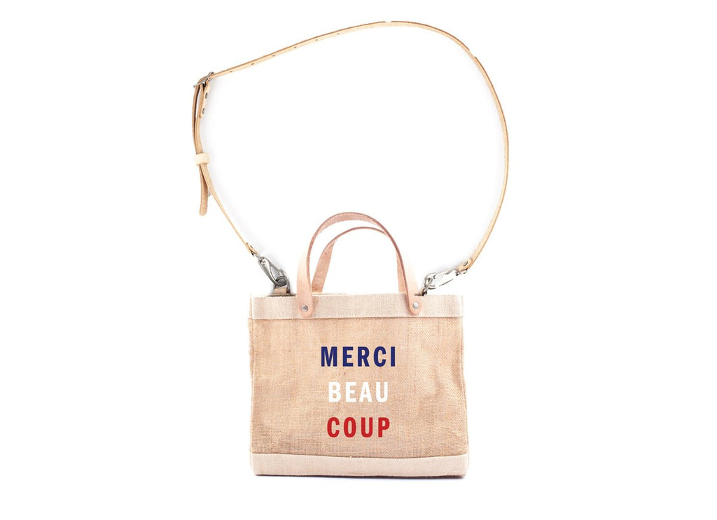 Apolis + Clare V. Merci Beaucoup Lunch Bag
