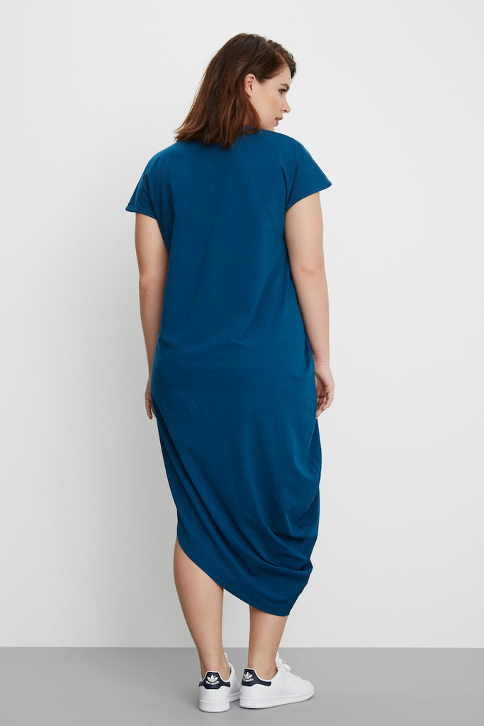universal standard geneva dress patriot blue plus size fashion coverstorynyc