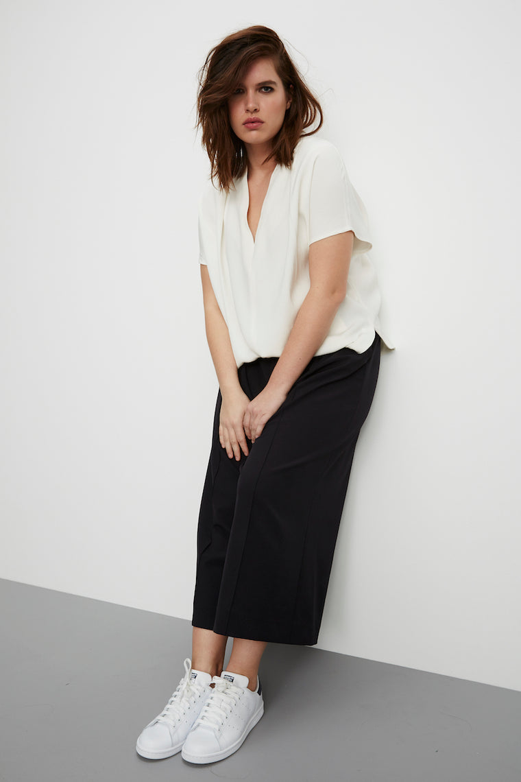 MYNT 1792 Wide Leg Cropped Trousers