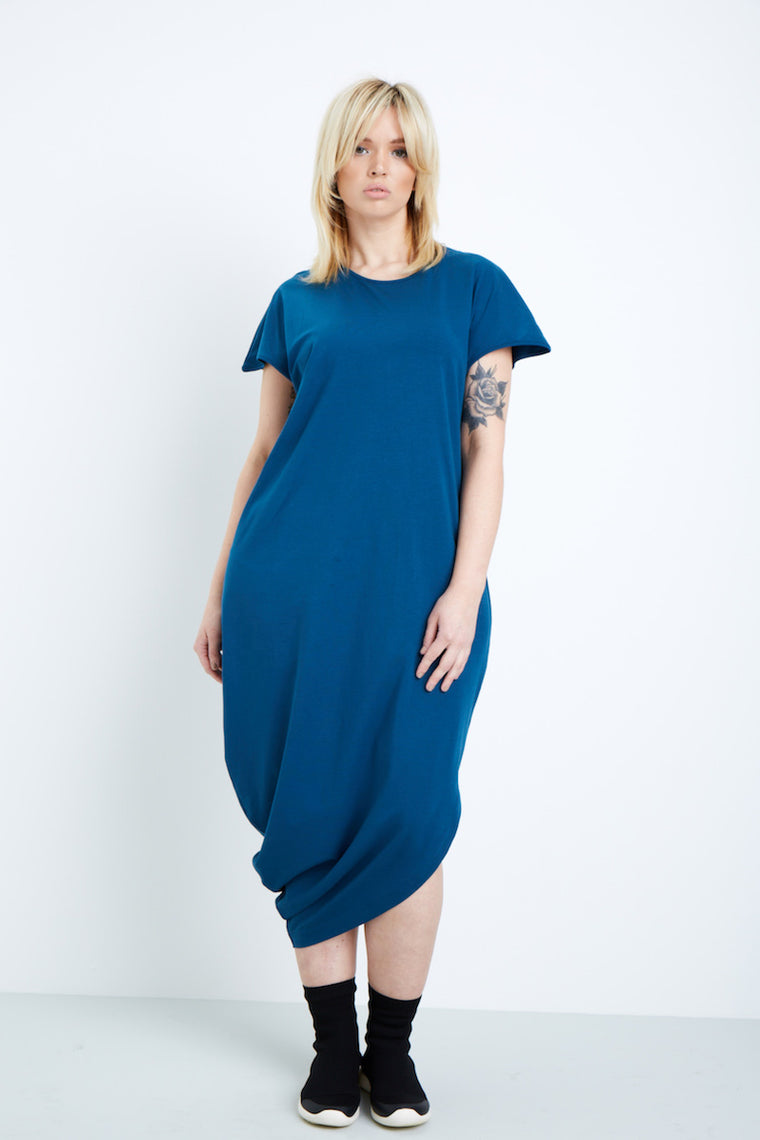Universal Standard Geneva Dress-Patriot Blue