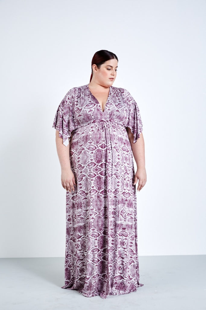 Rachel pally white label viper caftan maxi dress coverstory