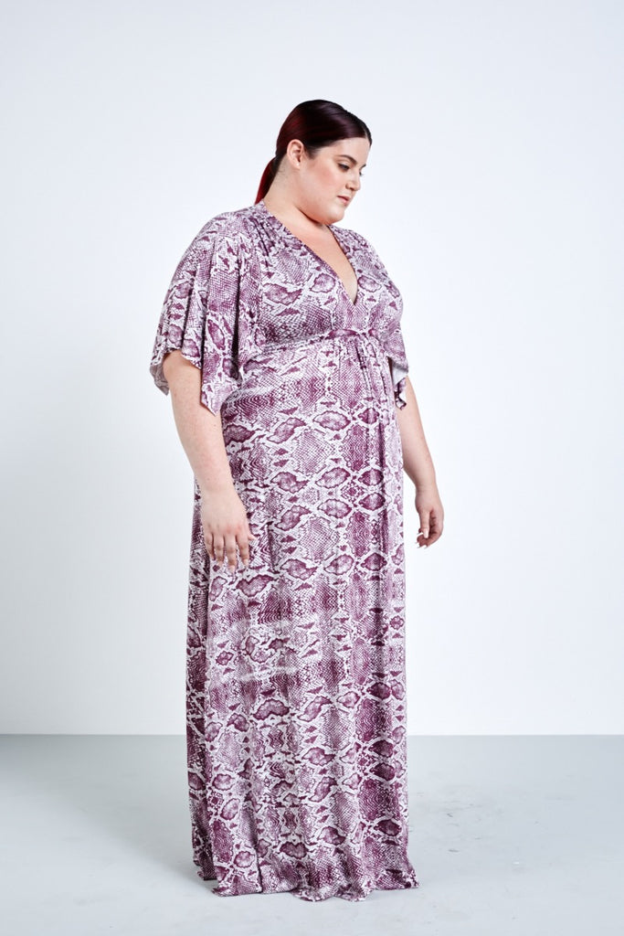 coverstory Rachel pally viper caftan dress plus size