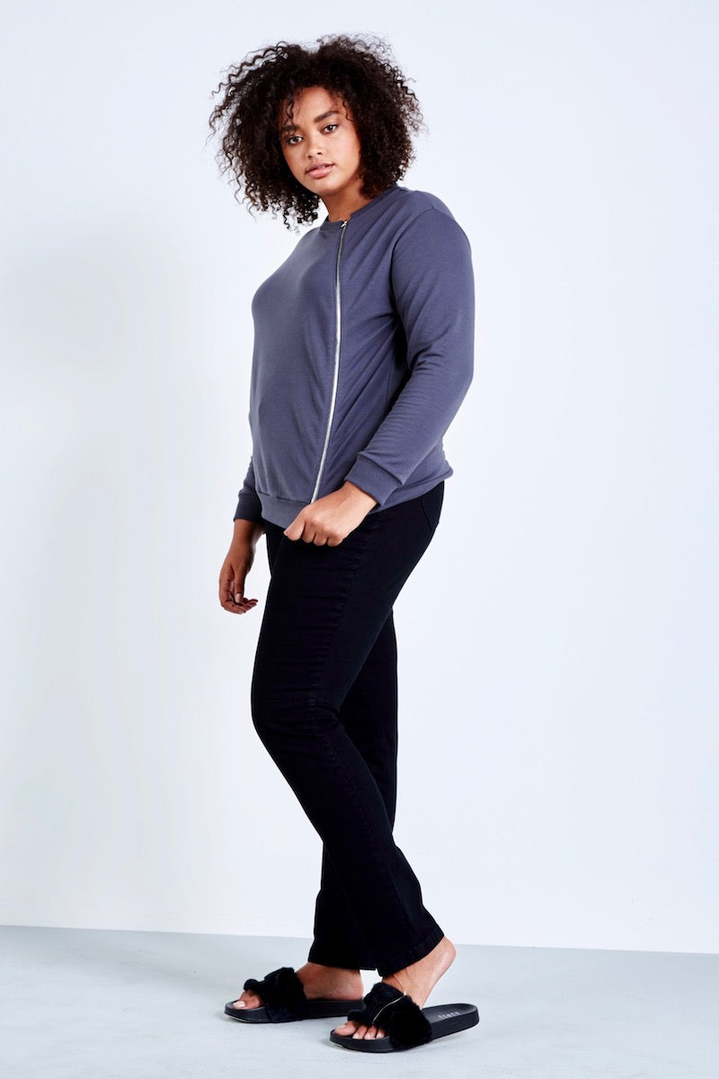 coverstory yoga jeans plus size skinny jeans overdyed black
