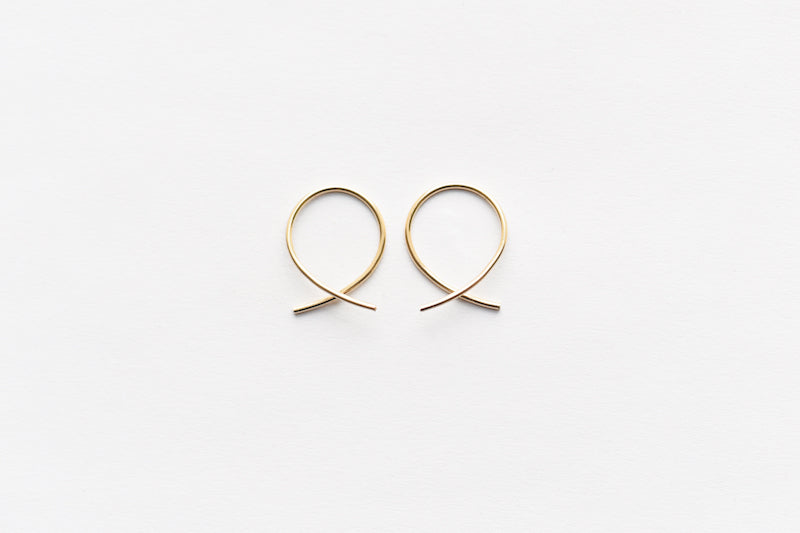 864 mini hoop earrings