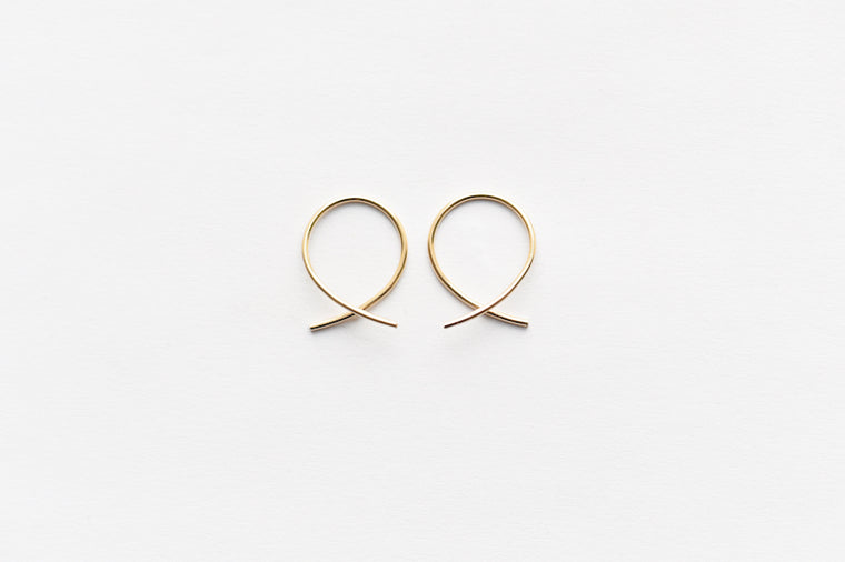 8.6.4 Mini Hoop Earrings-14K gold filled