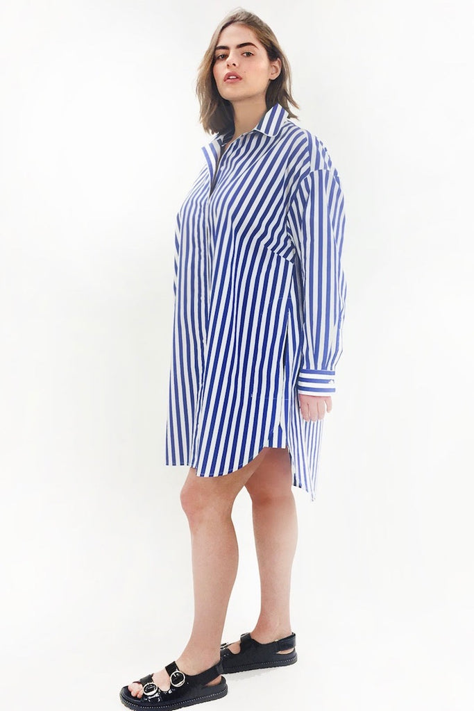 See Rose Go Essential Tunic Shirt - Timeless Stripe