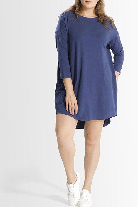 Shegul Khrstyana Knit Dress - Blue