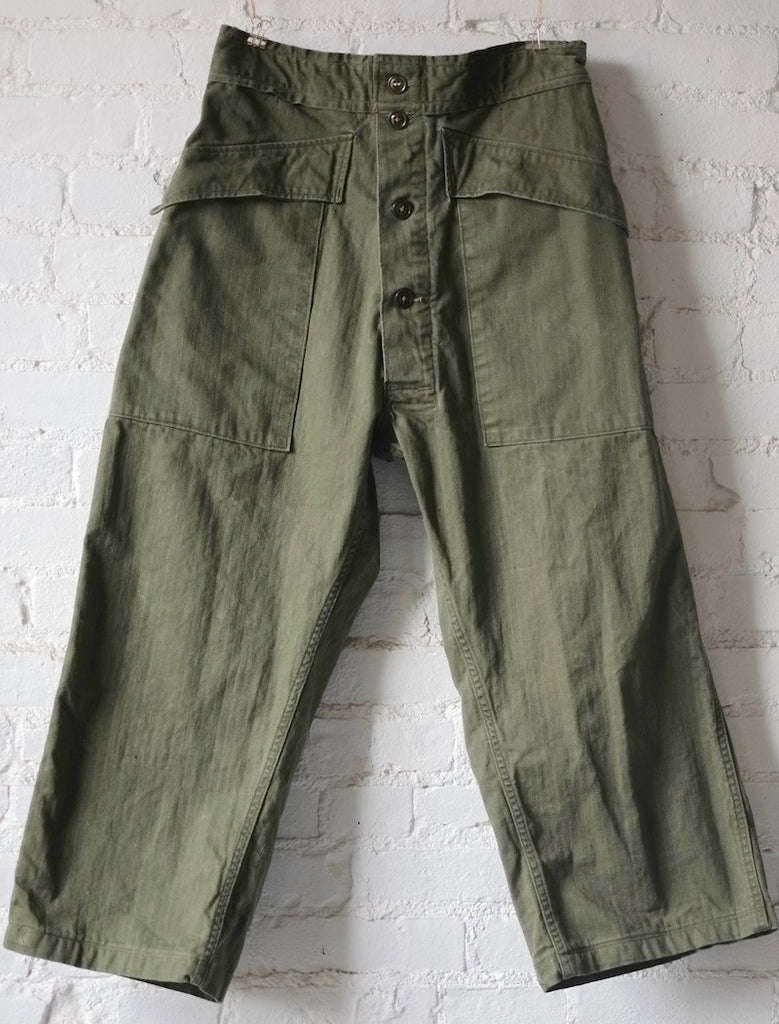 As Ever Tanker pant olive plus size