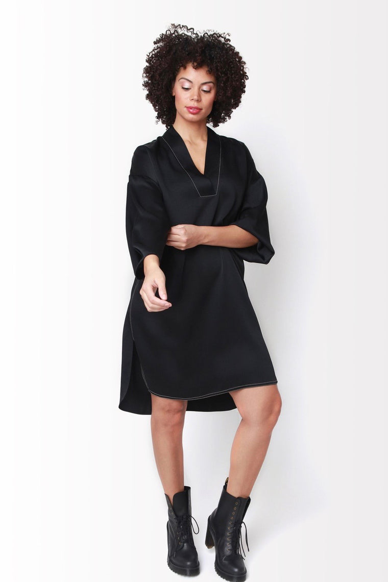 Shegul Emmy Dress -Black