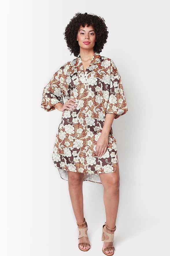Shegul Emmy Dress -Floral