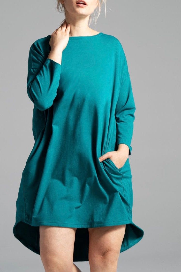 Shegul Khrstyana Knit Dress - Teal