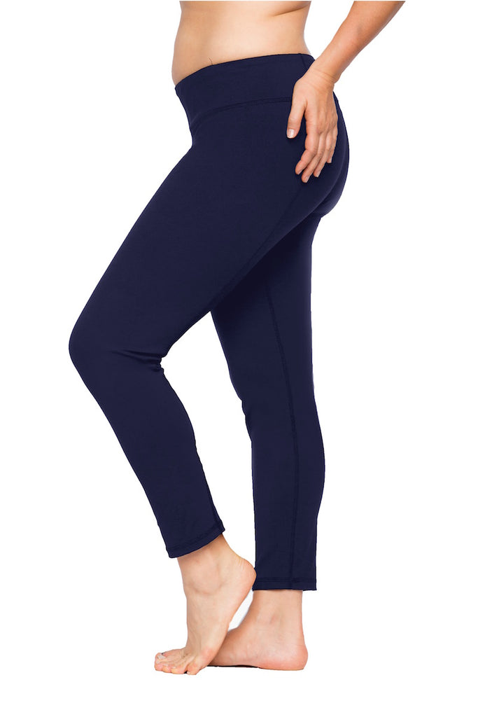 coverstorynyc lola getts plus size leggings navy