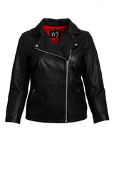 ALL 67 - Leather Biker Jacket